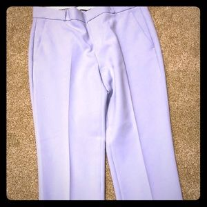 Lavender cropped Avery pant